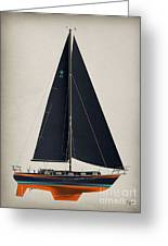 42 Black Sails Greeting Card