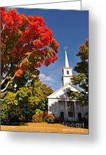 Lunenburg, Ma - Fall Foliage Greeting Card