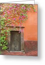 Mexico, San Miguel De Allende Greeting Card