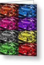426 Hemi Head Pop Greeting Card
