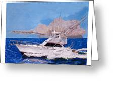 Storm Chasing On The High Seas Greeting Card