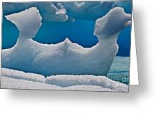 Iceberg, Antarctica Greeting Card