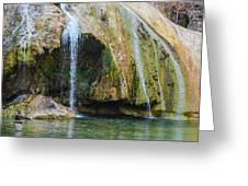 Turner Falls Oklahoma Greeting Card