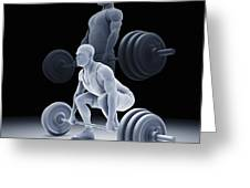 Exercise Workout Greeting Card