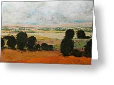 45 Acres Greeting Card