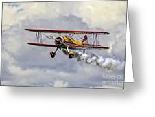 450 Hp Stearman Greeting Card