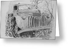 46 Chevy Treasure Greeting Card