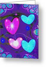 472 -  Valentine Hearts  ... Greeting Card