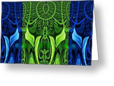 479 - Secret Dwellers In The Woods Greeting Card