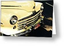 '48 Ford Greeting Card by Cathie Tyler