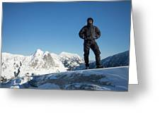 Mountaineering Greeting Card