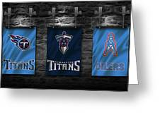 Tennessee Titans Greeting Card