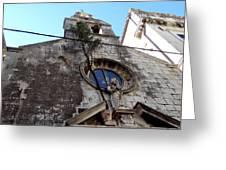 Views Of Dubrovnik Croatia Greeting Card