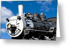 480 Locomotive Greeting Card