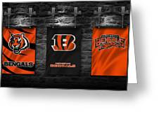 Cincinnati Bengals Greeting Card