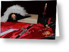 4th Degree Knights Of Colombus Greeting Card
