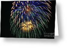 4th Of July 2014 Fireworks Mannington Wv 1 Greeting Card