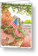 4th Of July In Los Olivos, California Greeting Card