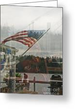 4th Of July In Seabeck Greeting Card