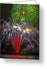 4th Of July Through The Lens Baby Greeting Card