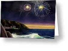 4th On The Shore Greeting Card