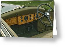 1937 47 Rolls Royce Greeting Card