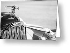 1942 Packard Darrin Convertible Victoria Hood Ornament Greeting Card