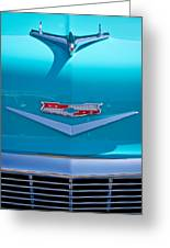 1956 Chevy Bel Air Greeting Card