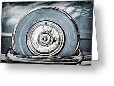 1956 Ford Thunderbird Spare Tire Greeting Card