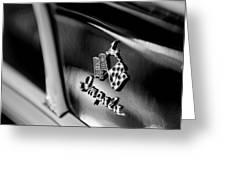 1958 Chevrolet Impala Emblem Greeting Card