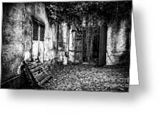Abandoned Sanatorium Greeting Card