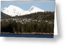 Alaskan Landscape Greeting Card