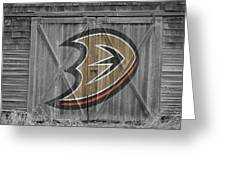 Anaheim Ducks Greeting Card