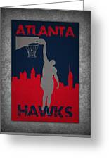 Atlanta Hawks Greeting Card