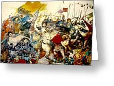 Battle Of Grunwald Greeting Card