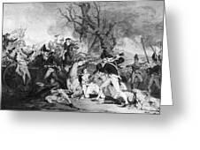 Battle Of Princeton, 1777 Greeting Card