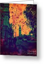 Big Ben Street Greeting Card