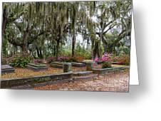 Bonaventure Cemetery Savannah Georgia Greeting Card