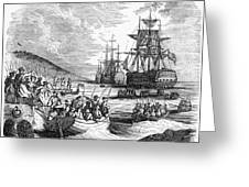Boston: Evacuation, 1776 Greeting Card