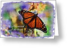 Butterfly Scripture Greeting Card
