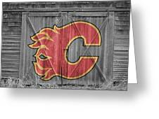 Calgary Flames Greeting Card
