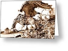 Campania Caserta Carditello Plazzo Reale Greeting Card