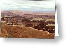 Canyonlands National Park In Utah Greeting Card