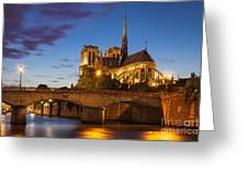 Cathedral Notre Dame Greeting Card