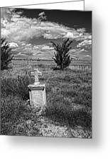 Cemetery Series Manderson Wy Greeting Card