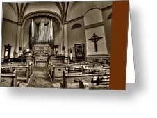 Central Presbyterian Church Greeting Card