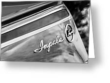 Chevrolet Impala Emblem Greeting Card
