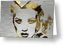 Christina Aguilera Collection Greeting Card