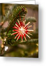 Christmas Tree Ornaments Greeting Card