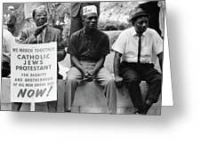 Civil Rights March, 1965 Greeting Card